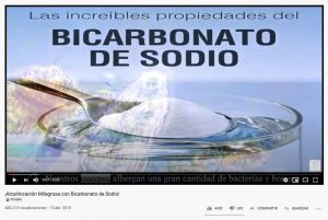 Milagrosa Alcalinización con Bicarbonato
