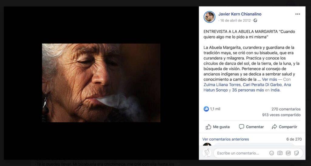 abuala margarita humo