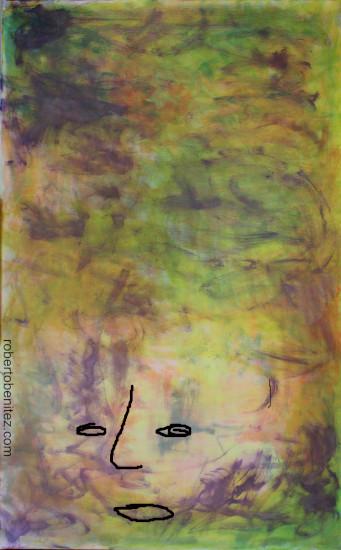 autoretrato P4 cara abajo
