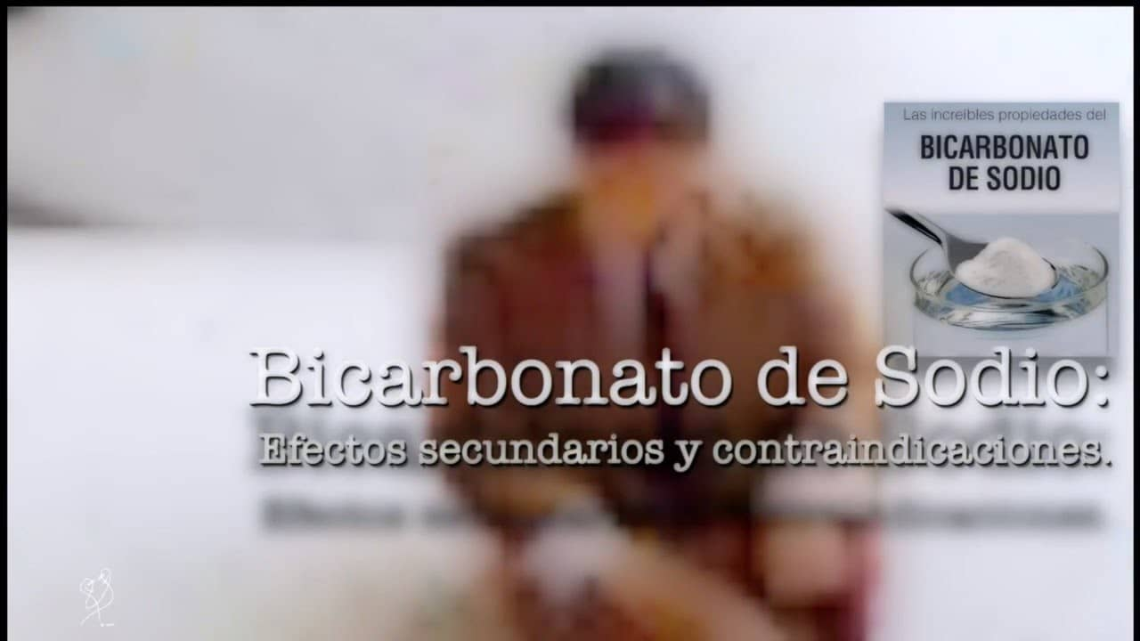 bicarbonato efectos