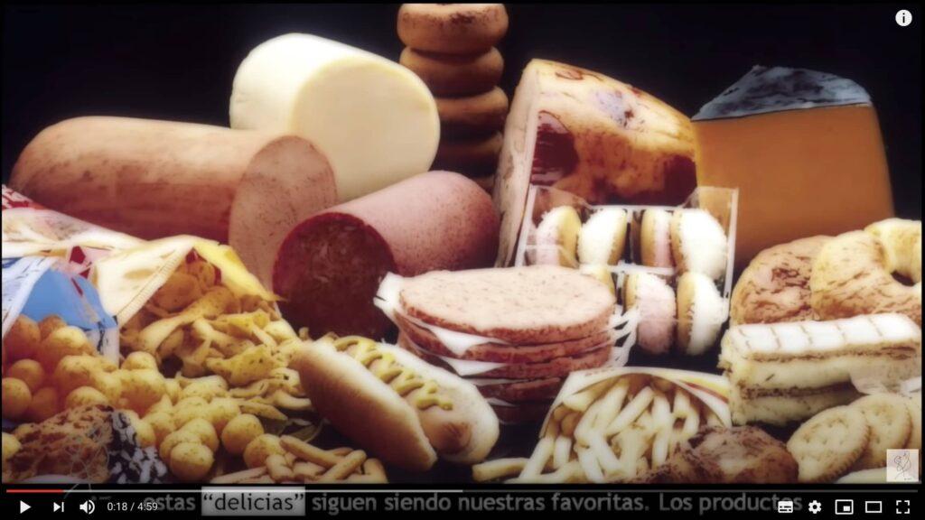 los 51 comida basura