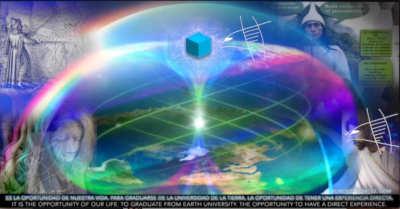 Lo que yo he visto: La Tierra con hexágono y cubo