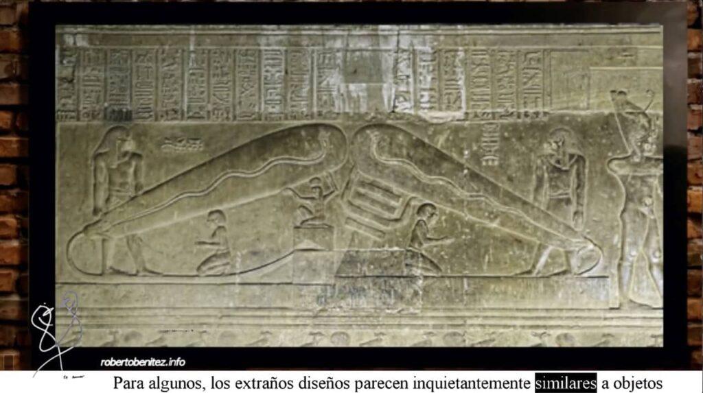 Bombillas egipcias