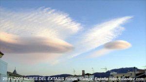 nubes éxtasis